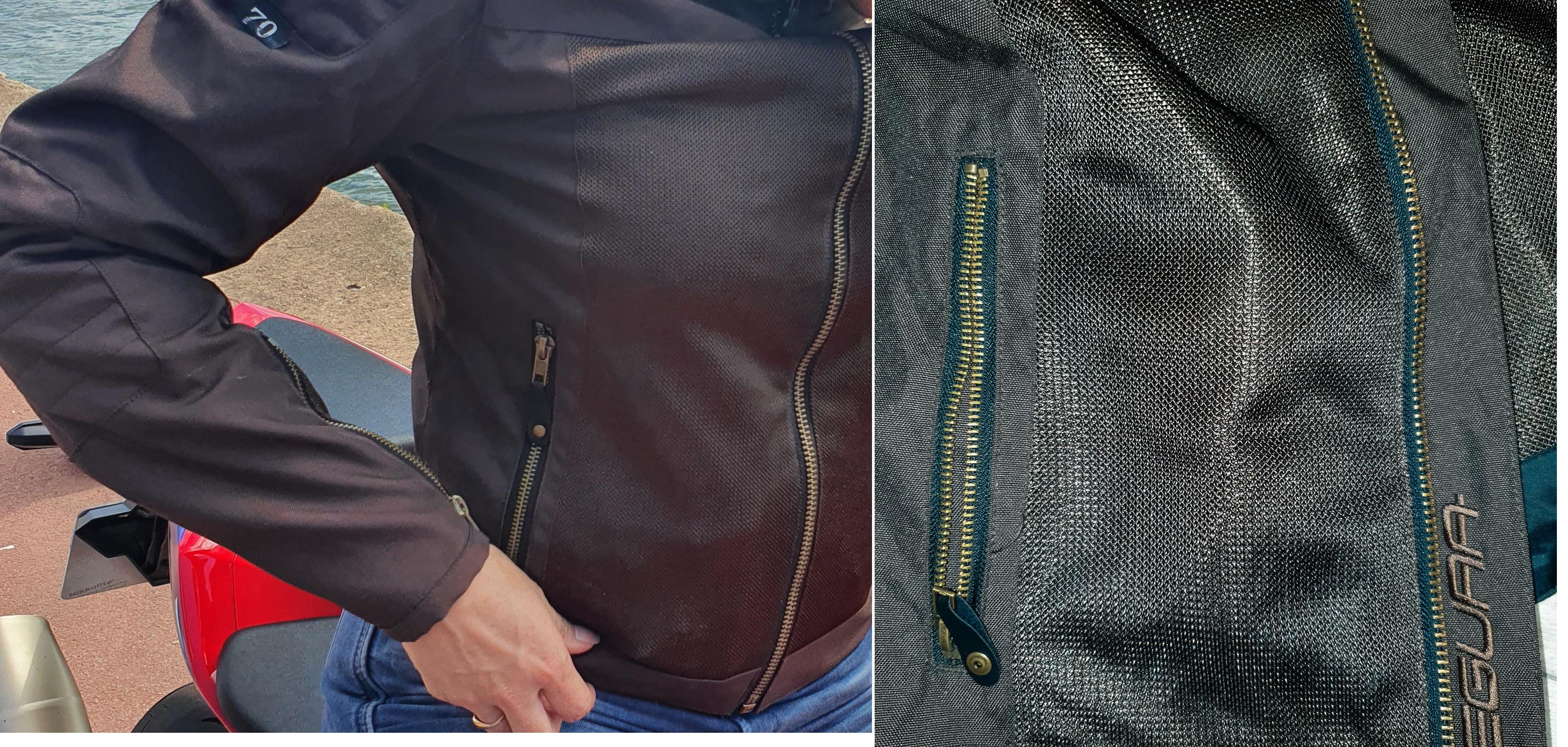 poches du blouson segura oskar
