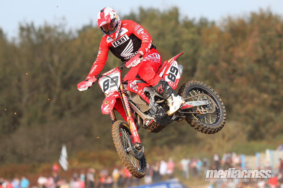 Jeremy Van Horebeek champion de France MX1 2020