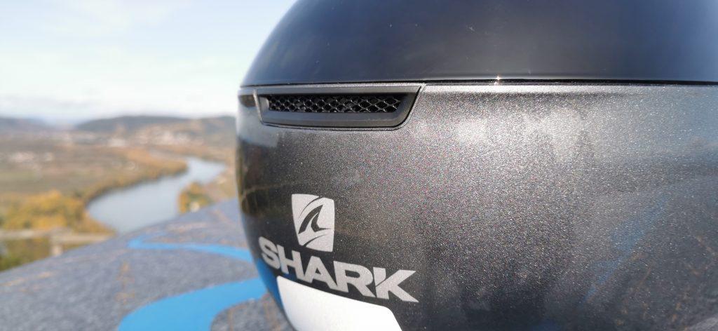 évacuation d'air du casque Evojet de Shark