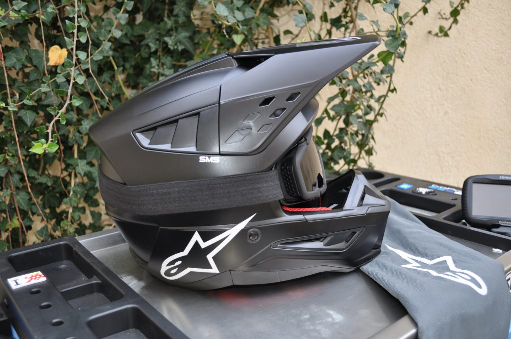 essai du casque cross Alpinestars Supertech S-M5