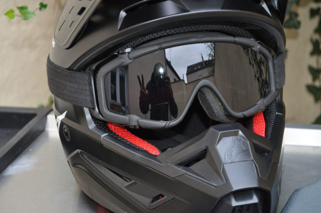 ALPINESTARS SM5 avec masque face avant