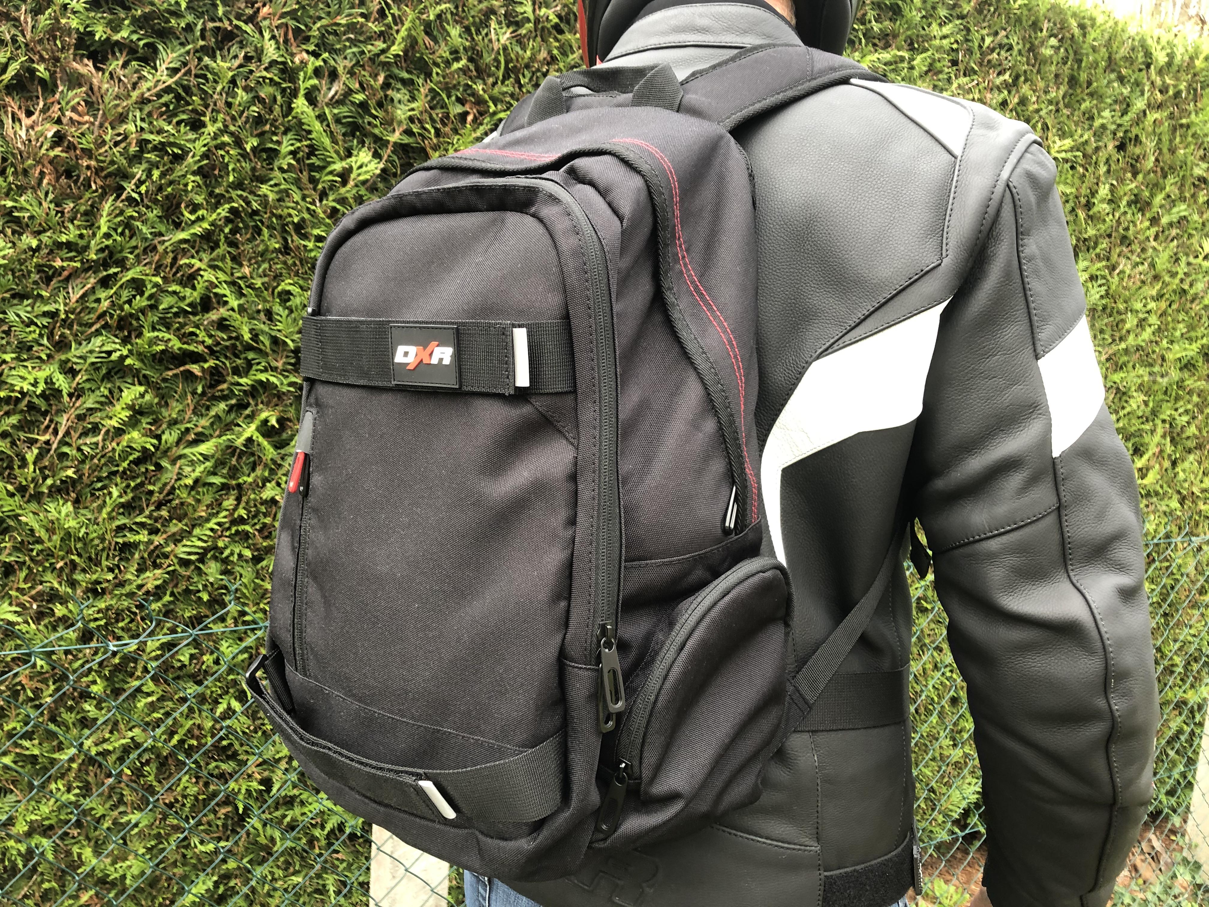 DXR Joe - vue d'ensemble du sac à dos