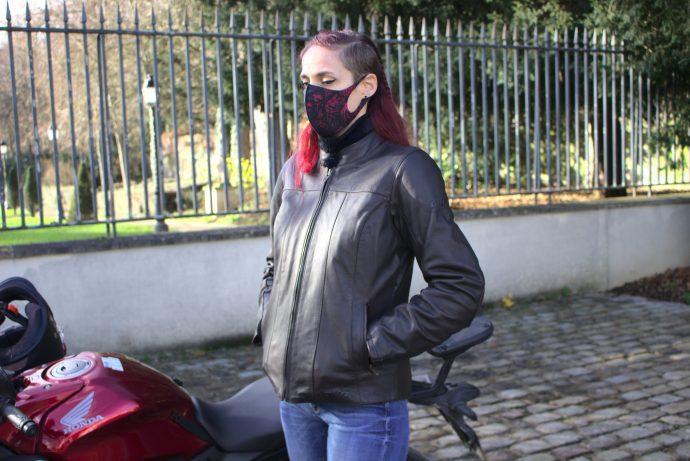 essai de la veste DXR Kanelle