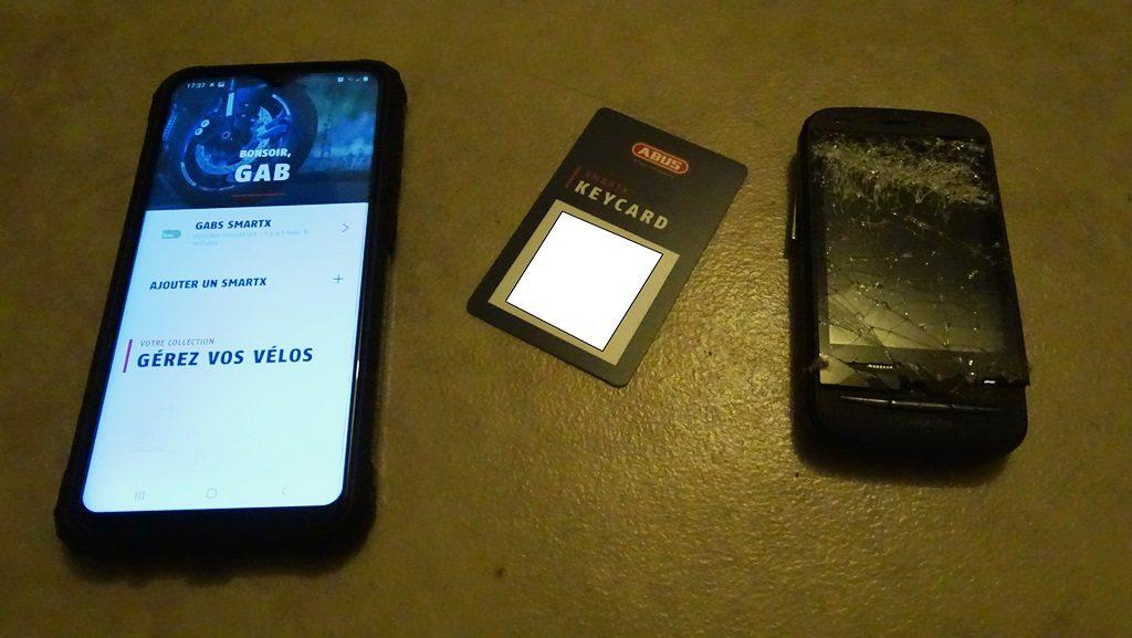 La Keycard, le seul passe partout de l'Abus Granit Detecto Smart X