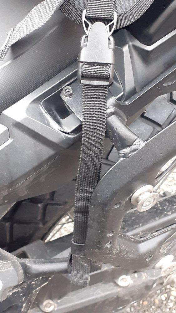 fijación de la bolsa sobredepósito DXR Safari