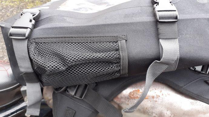 correas laterales de seguridad en la bolsa de depósito DXR Safari