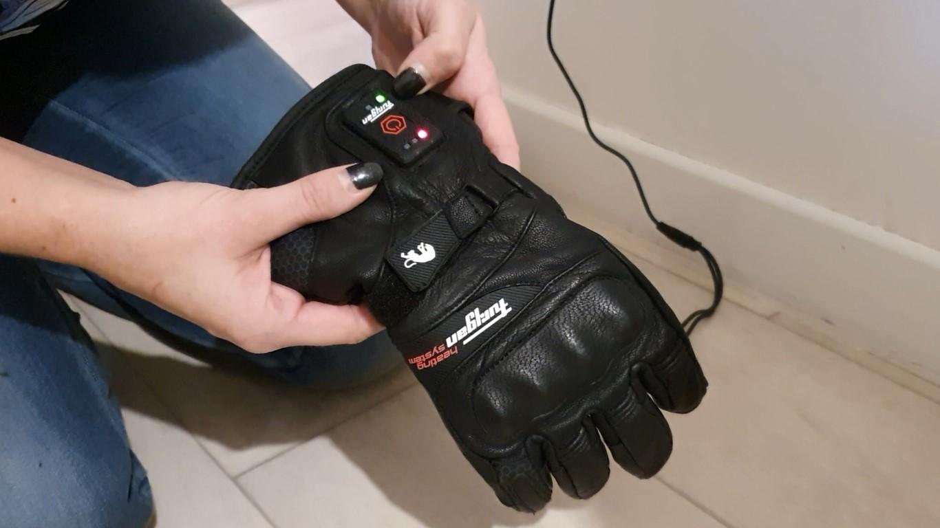 gants chauffants Furygan Heat Blizzard à l'essai
