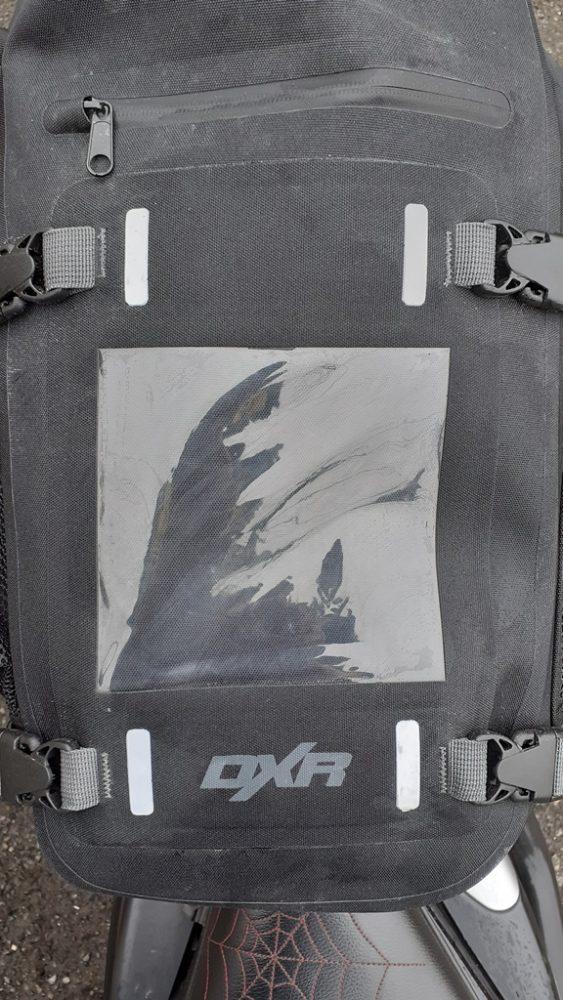 bolsillo externo de la bolsa sobredepósito DXR Safari