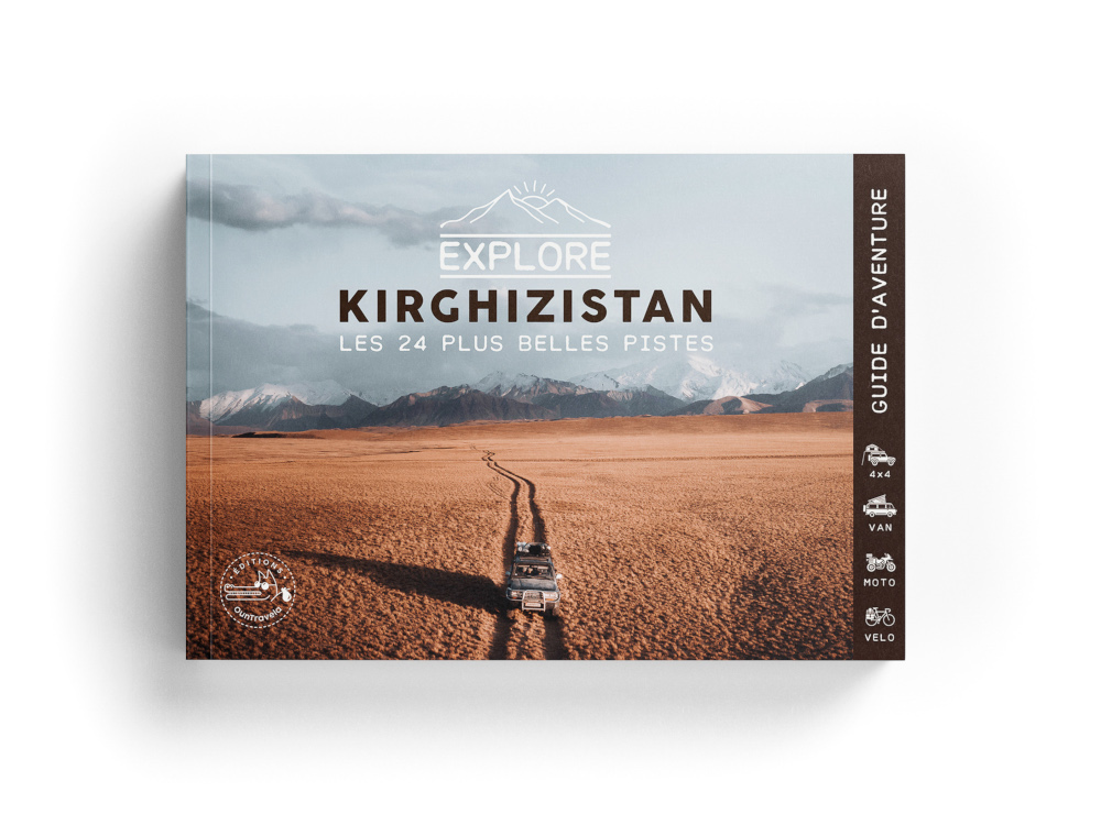 Le livre Explore Kirghizistan
