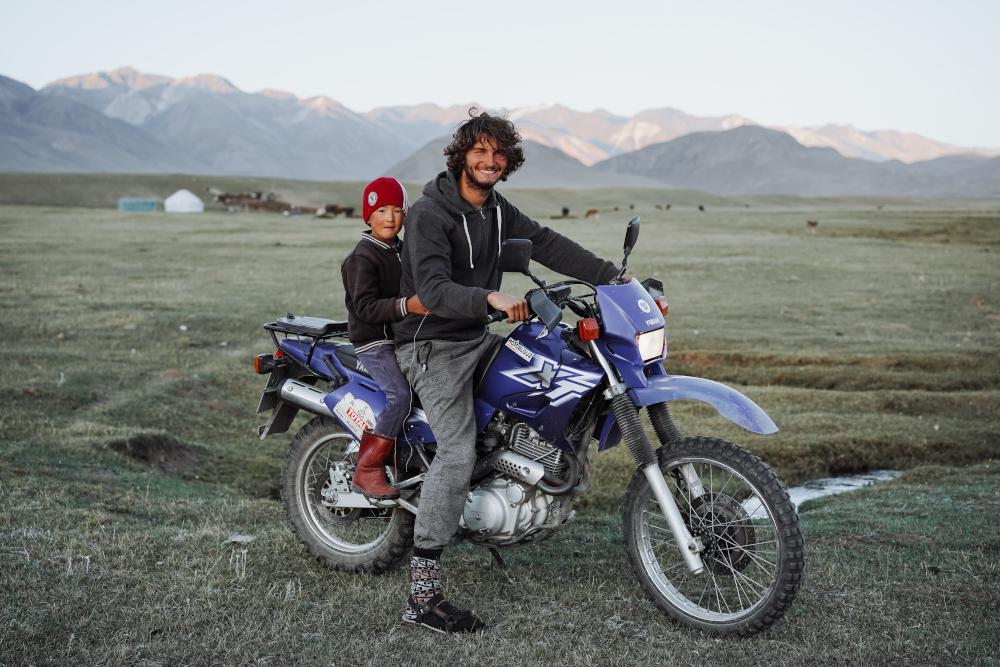 Explorer les pistes du Kirghizistan