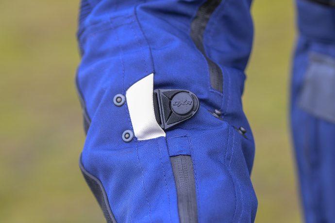 detalles de la chaqueta DXR Capetown