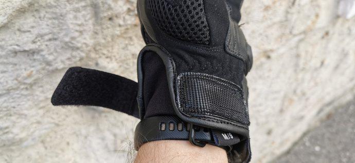 manchette fermeture velcro pour les gants DXR Patok