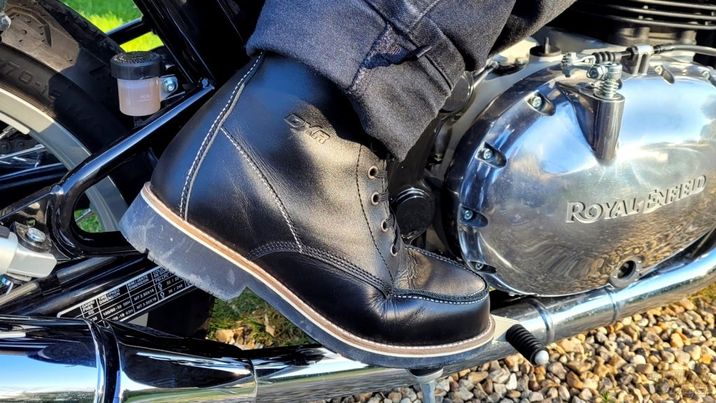 Chaussures DXR Woody : un look qui sent bon l'Ace Café de Londres au début des 50's