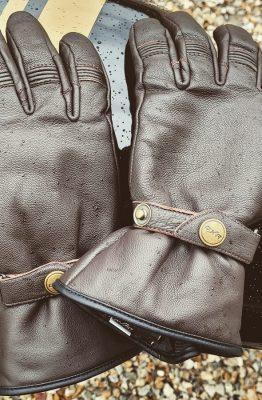 essai des gants DXR Bricklane