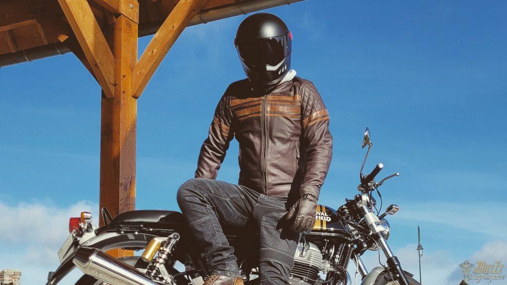 essai du blouson DXR Linus Rider