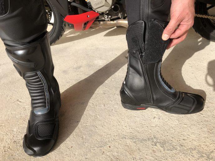 Fermeture velcro pour les bottes DXR Code Evo