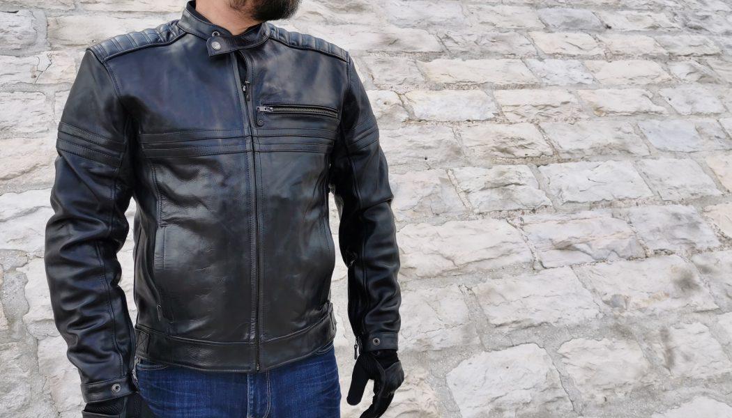 essai du blouson DXR Legend Full Black