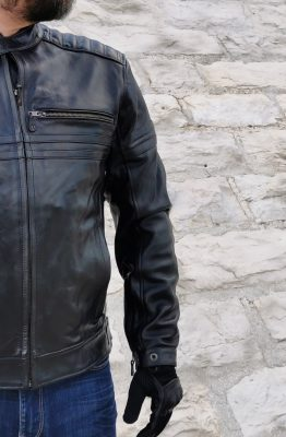essai du blouson DXR Legend Full Black