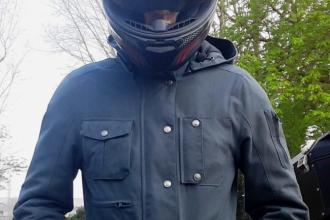 essai de la veste Bering Commander