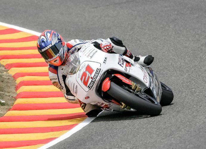Arnaud Vincent au Klass GP Motoblouz 2021