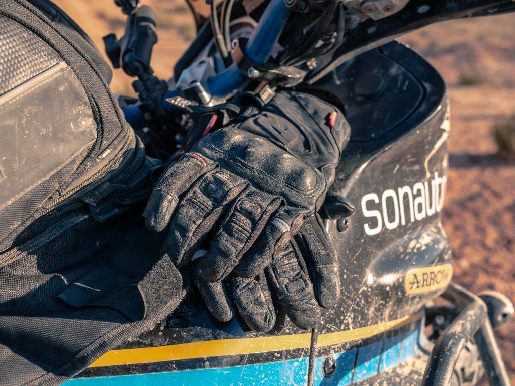 essai des gants Richa en toutes conditions