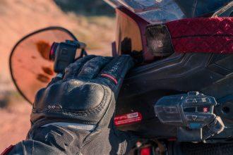 essai des gants Richa Atlantic Gore-Tex