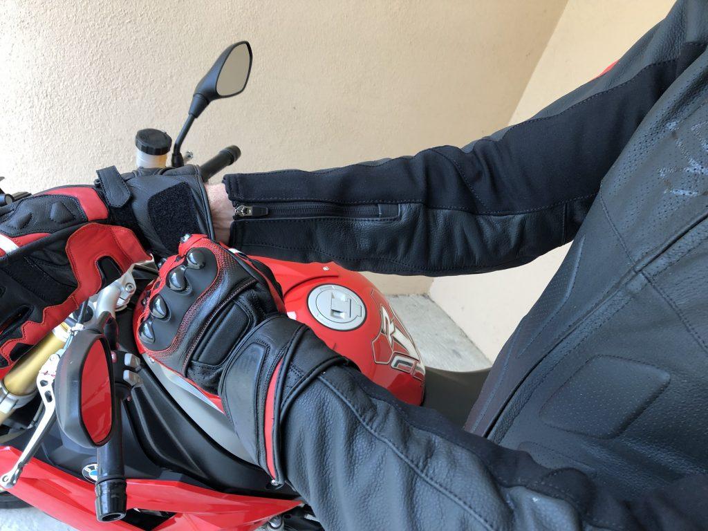DXR Carl – Manches ajustés pour mieux mettre les gants
