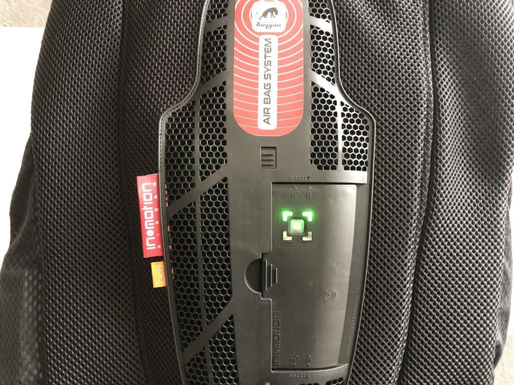 Furygan Fury Airbag System – La In&Box en place et opérationnelle