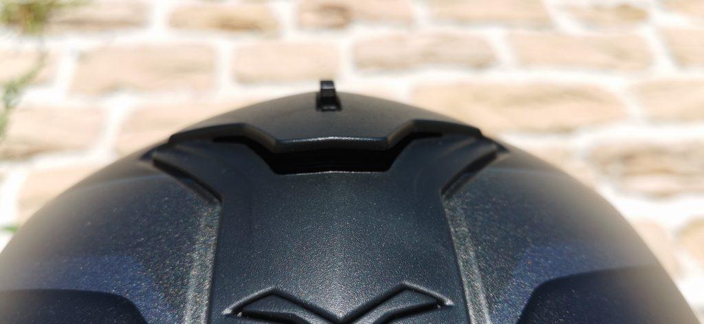 Nexx SX100R – Prise d'air frontale