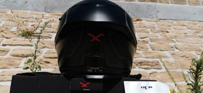 Spoiler arrière du casque intégral Nexx SX.100R