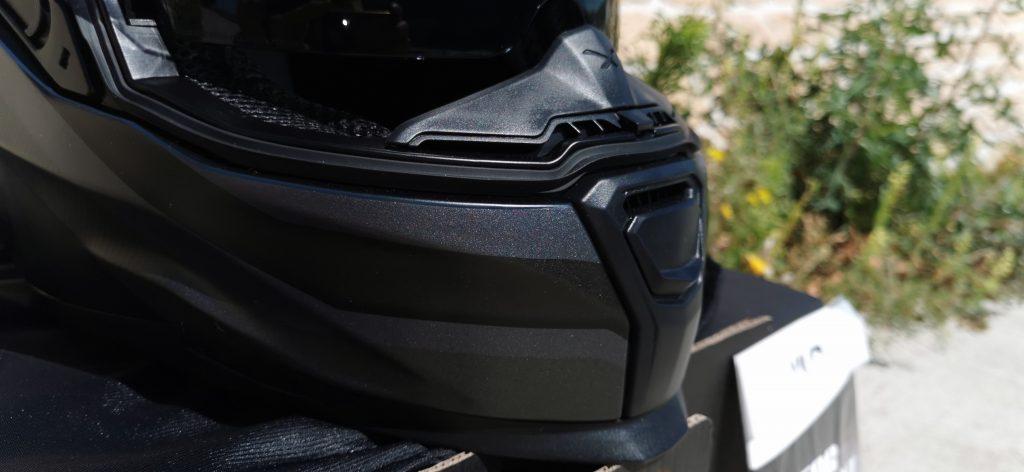 Nexx SX100R – commande prise d'air maxilaire