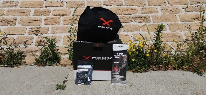 le pack du casque intégral Nexx SX.100R