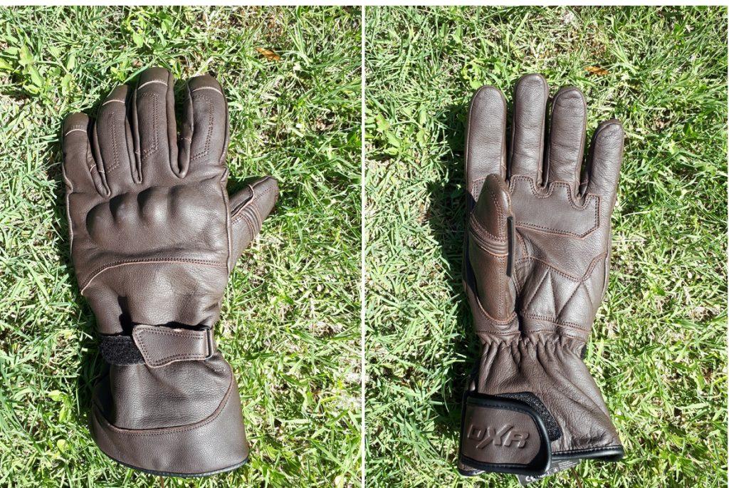 essai des gants DXR Townhall