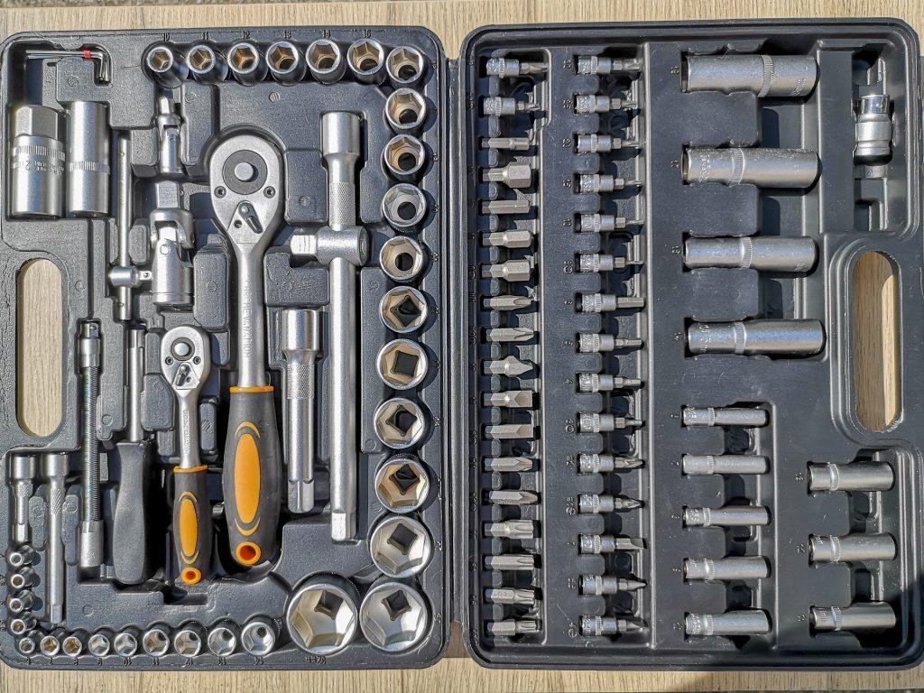 Coffret Hi-Q Tools 94 pièces – contenu