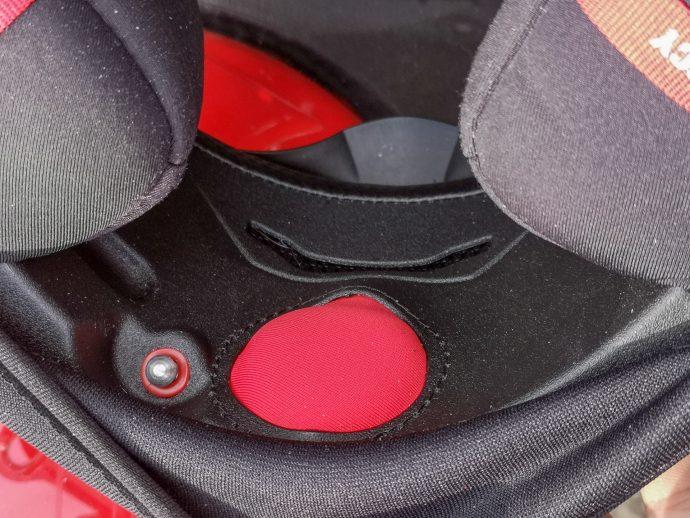 système airfit du casque scorpion exo-1400 Air