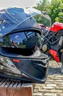 essai du casque scorpion Exo-1400 Air