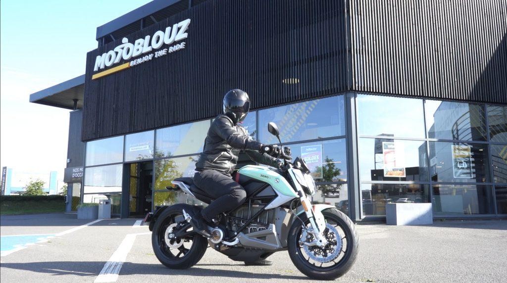 Les motos électriques Zero chez Motoblouz
