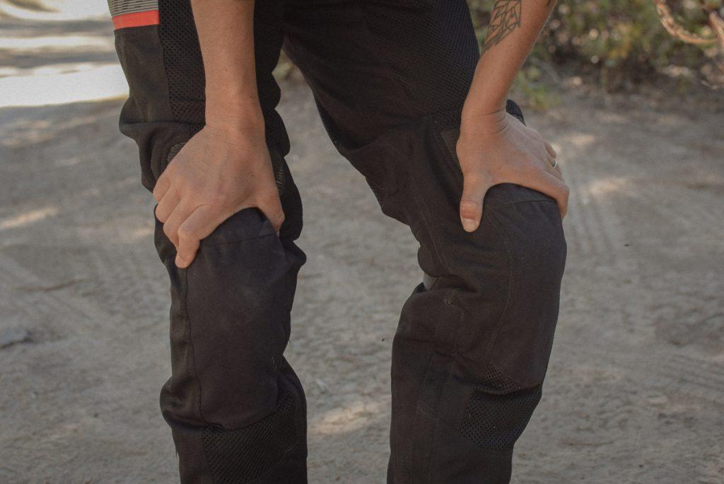Protections genoux du pantalon Rev'it