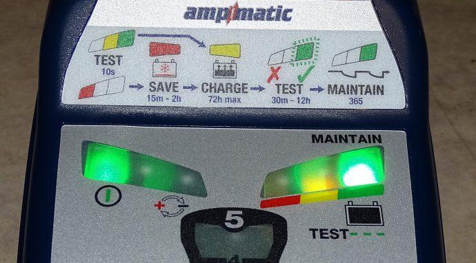 verdict du chargeur de batterie Tecmate Optimate 6