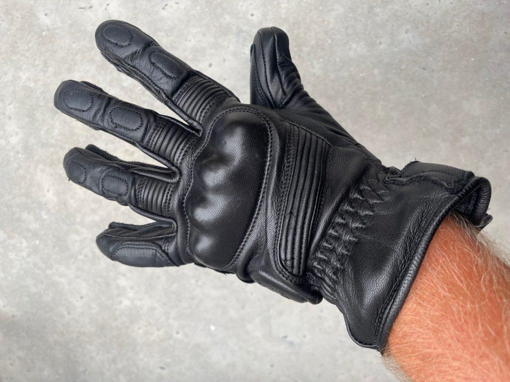 essai des gants Helstons en cuir Vitesse Pro