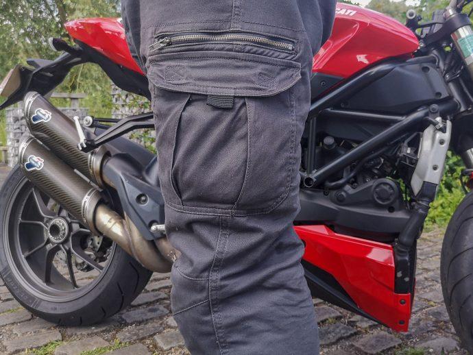 poches du pantalon DXR Nazaire