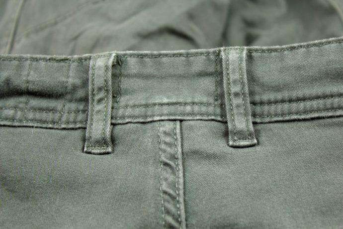 double passant sur pantalon DXR Nazaire