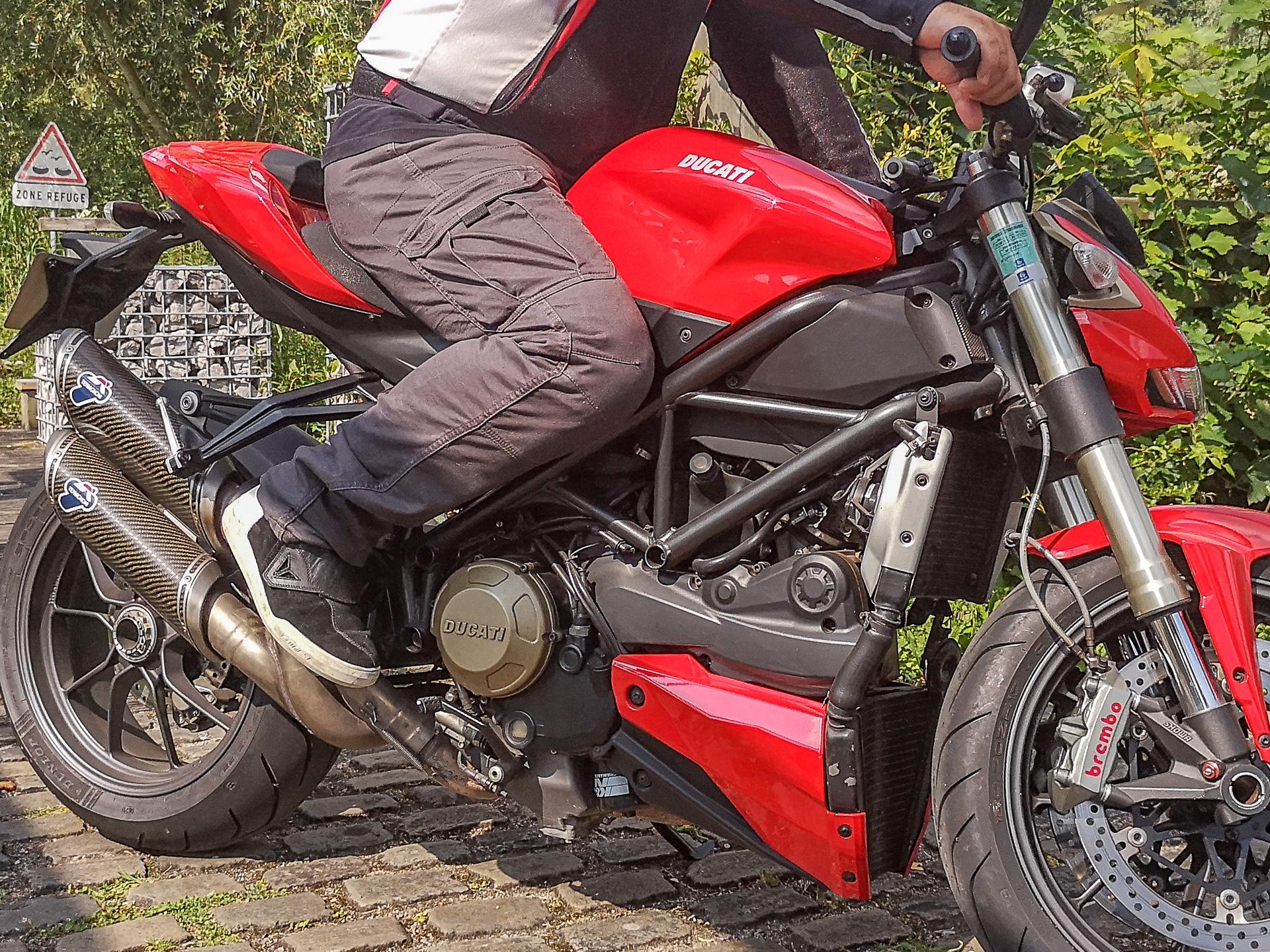 Essai pantalon cargo DXR Nazaire
