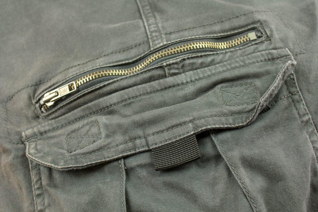 Pantalon DXR Nazaire – zip côté gauche
