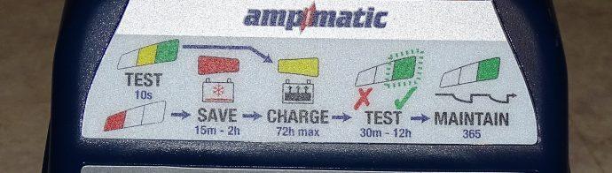 test du chargeur de batterie Tecmate Optimate 6