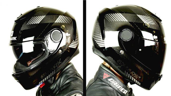 écran clair et écran teinté pour le casque Shark Spartan Carbon 1.2