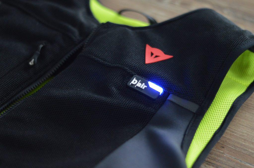 Led du gilet airbag Smart Jacket