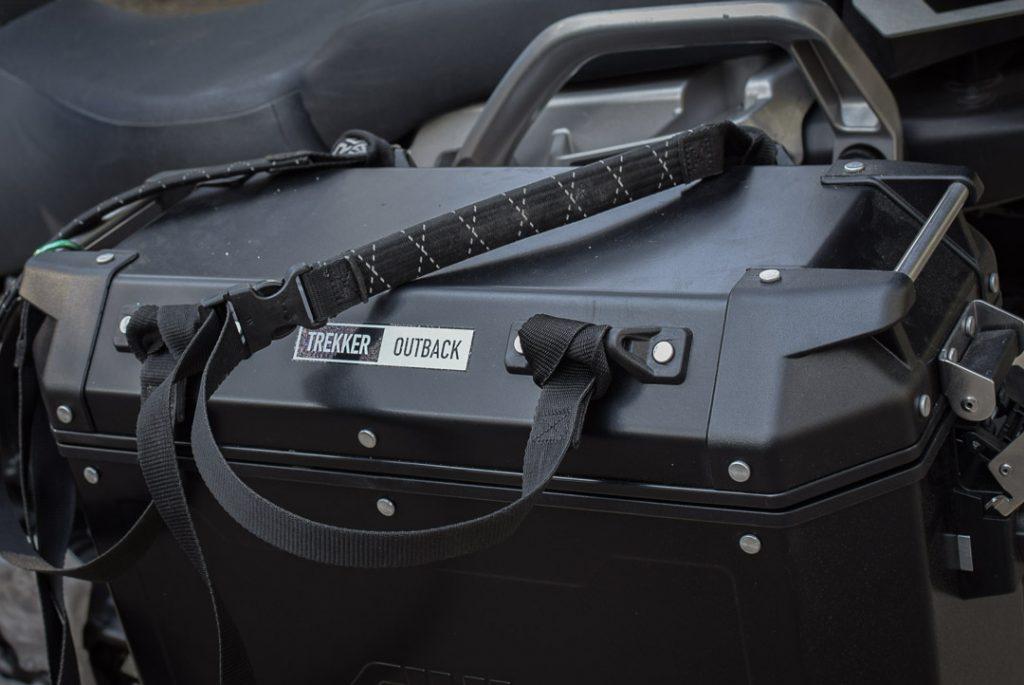 installation sur les valises Givi Trekker Outback