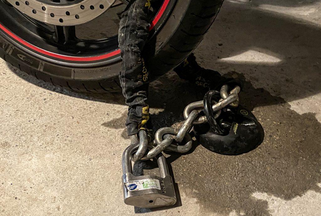 utilisation du point fixe de sécurité Auvray avec la chaîne