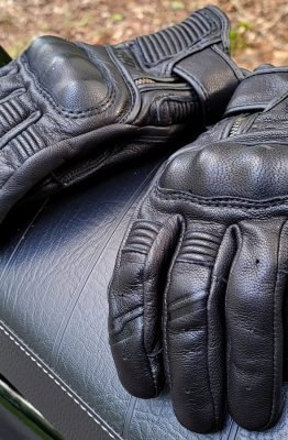 essai des gants Furygan James Evo D3O